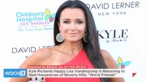 "Kyle Richards Happy Lisa Vanderpump Is Returning To Real Housewives Of Beverly Hills: ""We're Friends"""