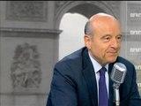 Alain Juppé explique sa popularité dans les sondages - 25/06