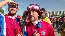 "Mondial 2014/Costa Rica: ""On va aller loin!"" (supporteur)"
