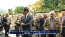11.10.2013 : Visite de Benoît HAMON dans les Ardennes