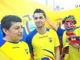 Mondial 2014: les Equatoriens de France espèrent les 8e - 25/06