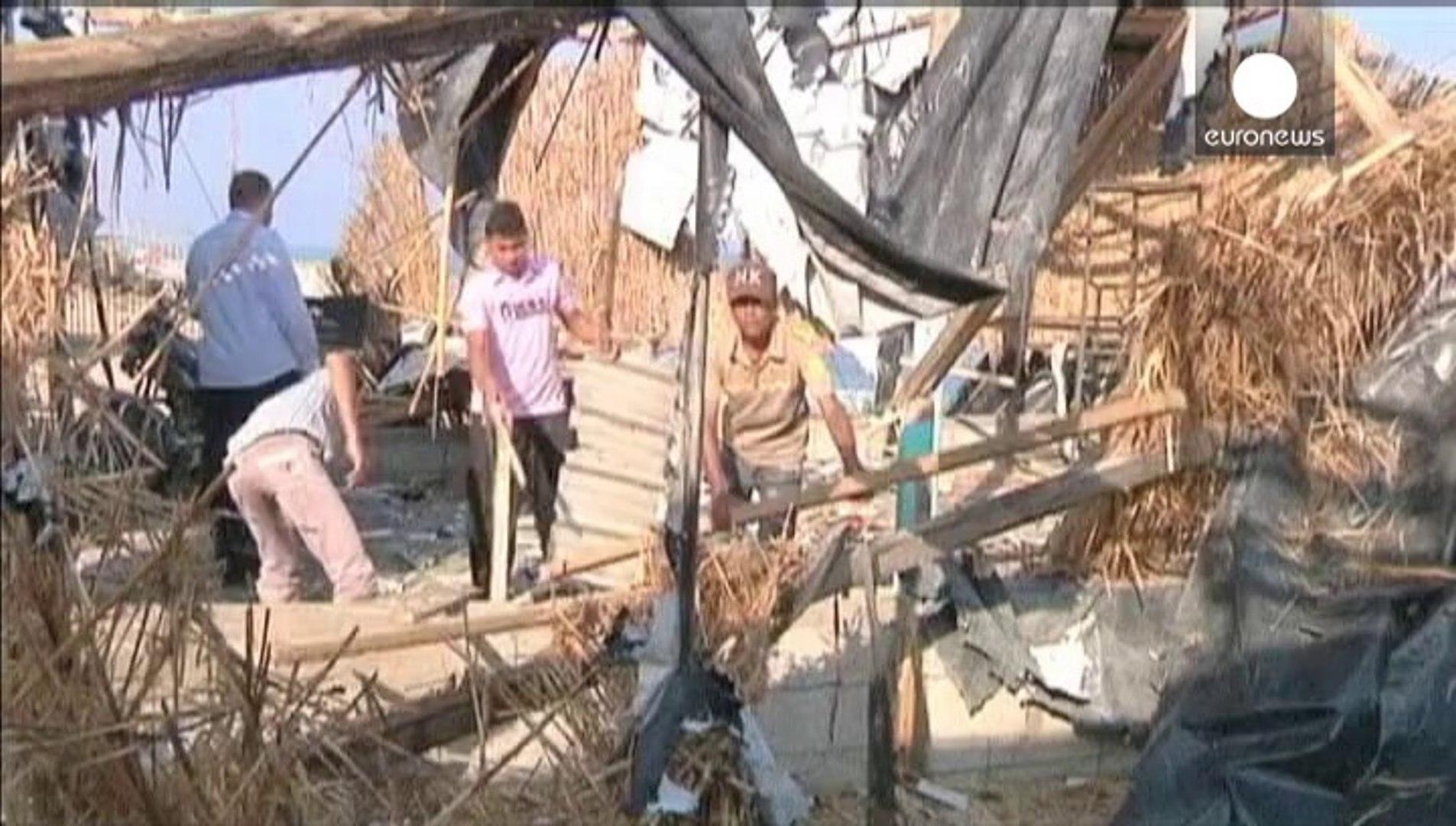Israel stages air strikes on Gaza