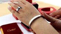 Replica Cartier Love Bracelet White Gold B6035416 Cheap Price $90 New Version Quality Replica