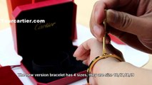 High Quality Faux Cartier Yellow Gold Love Bracelet B6035516 New Version Cheap $90 Quality Replica
