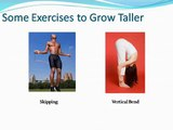 Naturally Increase Your Current Height with Grow Taller 4 Idiots