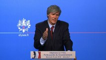 Point de presse de Stéphane Le Foll, porte-parole du Gouvernement, le 25 juin