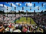 Live Raonic vs Djokovic