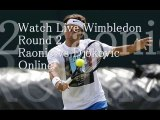 WIMBLEDON 2014 Raonic vs Djokovic