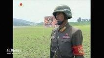 L'armée nord-coréenne s'entraîne sur des cibles de soldats américains