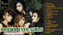 Brown Eyed Girls │ Best Songs of  Brown Eyed Girls Collection 2014 │Brown Eyed Girls's Greatest Hits