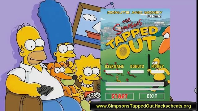 The Simpsons Tapped Out Hack [Donuts Hack] [Android and iOS] - [Simpsons Tapped Out Cheats]
