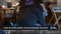 Dan Maurer et son scrotum de 45 kilos