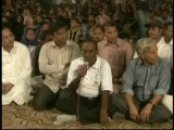 Delegation of Karachi City Cricket umpires committee,Vist MQM Sit-in Numaish to Solidarity with Mr.Altaf Hussain