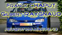 Franck CHAPUT / Gilbert RAYGNAUD - Rallye Région Limousin 2014 [HD] - By WTRS