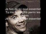 Emmanuel Moire - Mon essentiel (Lyrics / Paroles)