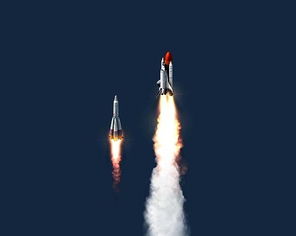 Airport City New Spaceship Launch