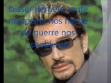 Johnny Hallyday - Allumer le feu (Lyrics / Paroles)
