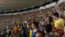 COUPE DU MONDE DE FOOTBALL: Les supporters BRESILIENS donnent de la voix!!!!!