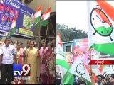 Rashtravadi Congress Party absent in Congress' protest against rail fare hike, Mumbai  - Tv9 Gujarati