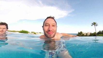 Manu et Niko du web s'amusent avec la GoPro à la piscine !