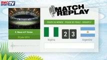 Nigeria - Argentine : Le Match Replay avec le son RMC Sport !