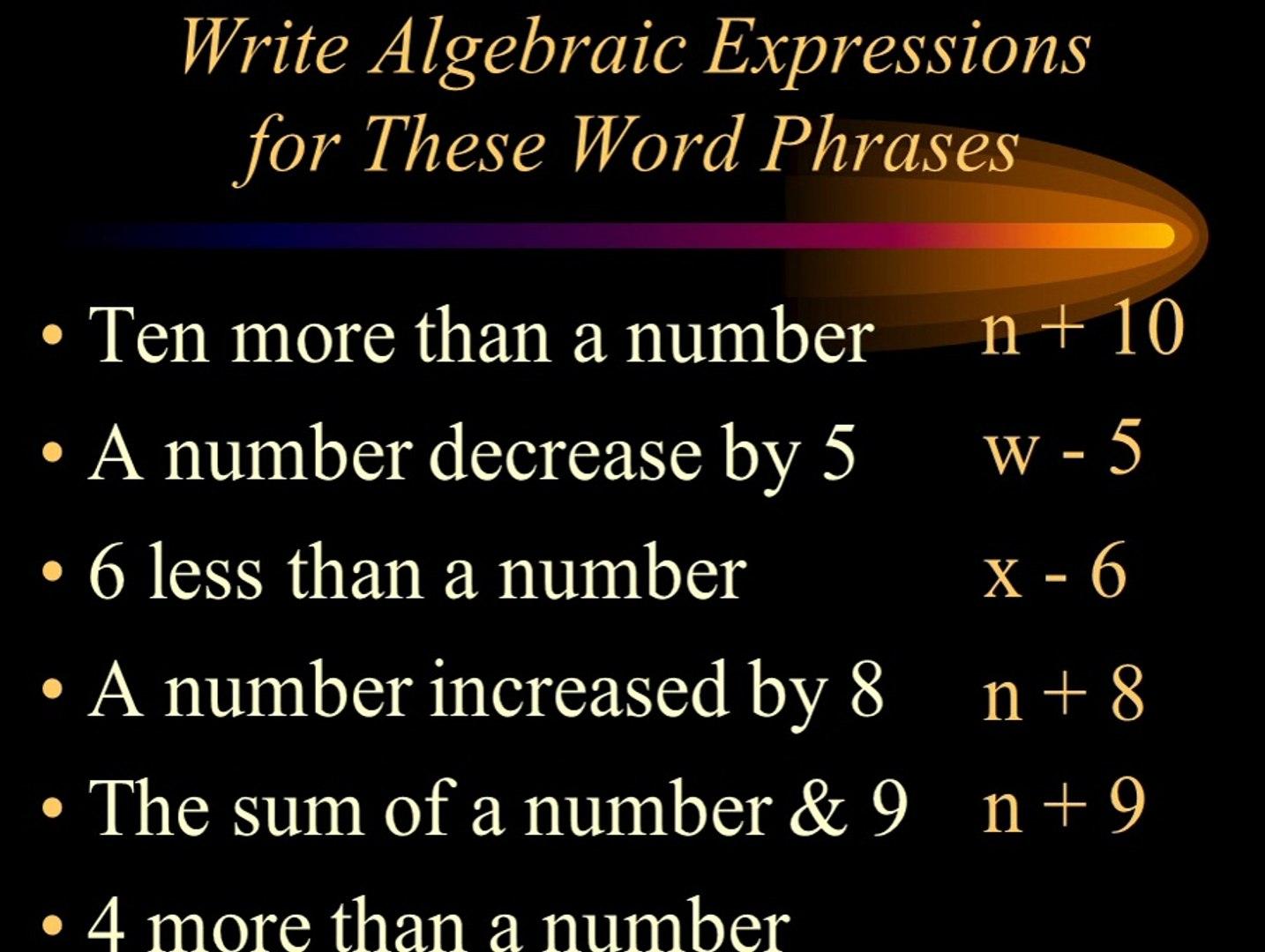 Algebra Homework Solver