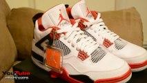 Cheap Air Jordan Shoes,Air Jordan Retro IV Mars 4 Fire Red 2012s Early Review