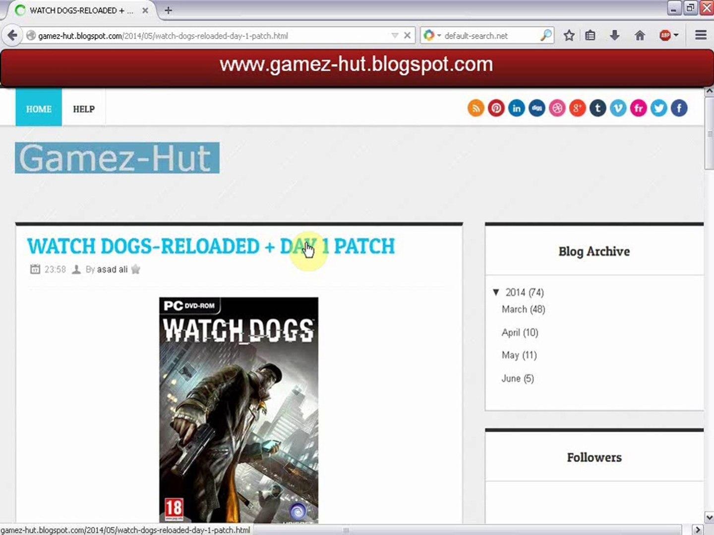 Download Watch Dogs Full Game Free For PC - video dailymotion