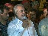 Delegation of sindh tajir ittehad Vist MQM Sit-in Numaish to Solidarity with Mr.Altaf Hussain