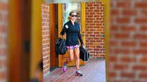 Jessica Simpson Puts Her Legs on Display in Beverly Hills
