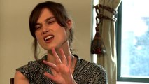 Begin Again Interview - Kiera Knightley (2014) - Music Drama HD