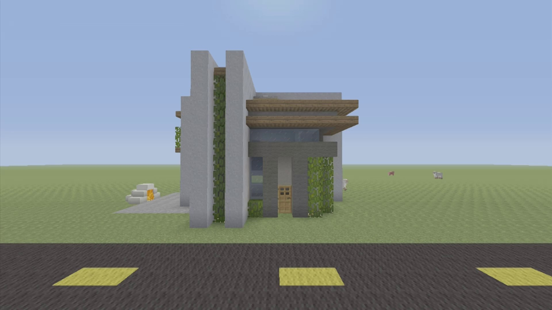 How To Build A Small Modern House In Minecraft Video Dailymotion