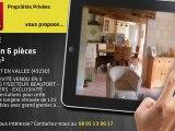 A vendre - maison - BEAUFORT EN VALLEE (49250) - 6 pièces - 135m²