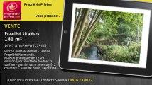 A vendre - propriété - PONT AUDEMER (27500) - 10 pièces - 181m²