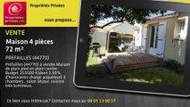 A vendre - maison - PREFAILLES (44770) - 4 pièces - 72m²