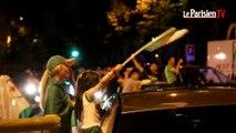 Champs-Elysées : scènes de liesse des supporteurs algériens