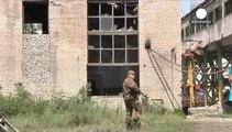 Liberados cuatro de los ocho observadores de la OSCE secuestrados en el este de Ucrania