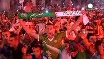 Argelia vibra con su histórica clasificación a octavos de final del Mundial