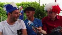 Feiern mit WM-Fans in Soustons | Euromaxx - Der WM-Reporter