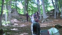 Hautes-Alpes : Les Prêtres en tournage de leur clip à Pontis