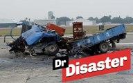 Deux camions complètement décapités en pleine course / Dr Disaster