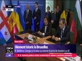 R. Moldova, Ucraina și Georgia au semnat Acordul de Asociere cu UE