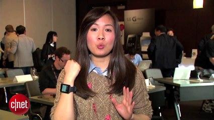 Découverte de la LG G Watch