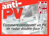 Comment contester un PV de radar double-face ?