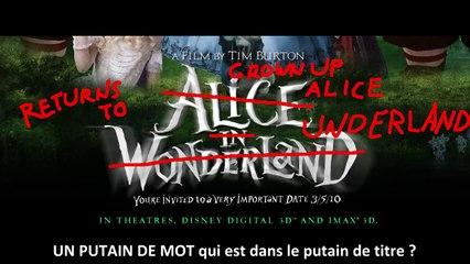 Nostalgia Critic VOSTFR - Alice au Pays des Merveilles