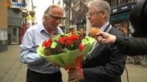 Piet van Dijken blij en vereert met Erepenning van de Stad - RTV Noord