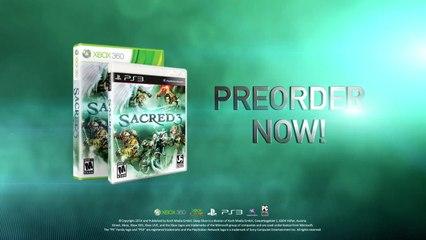 CGI Trailer PS3 Xbox 360 PC de Sacred 3