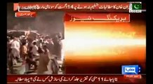 Imran Khan gives one month dead line to Nawaz Sharif. 14th August Tsunami March in Islamabad.