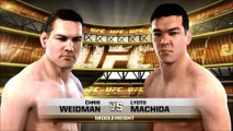 UFC 175 - Chris Weidman vs. Lyoto Machida EA SPORTS™ UFC® Prediction