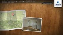 Location Appartement, Bagnères-de-bigorre (65), 307€/mois